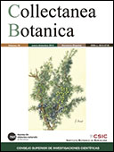 Portada de Collectanea Botanica